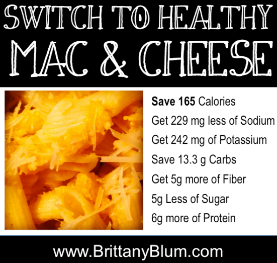 Healthy Mac and Cheese :: Must See Recipe :: www.brittanyblum.com
