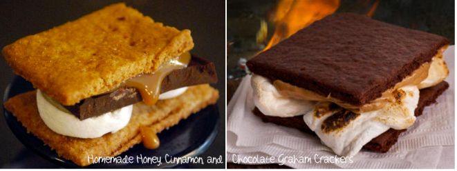 S'mores Graham Cracker Choices