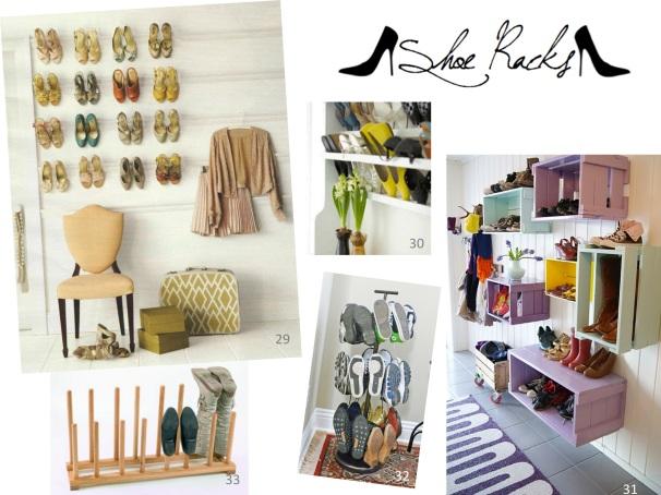 35+ Shoe / Closet Organization Ideas :: I De-clutter