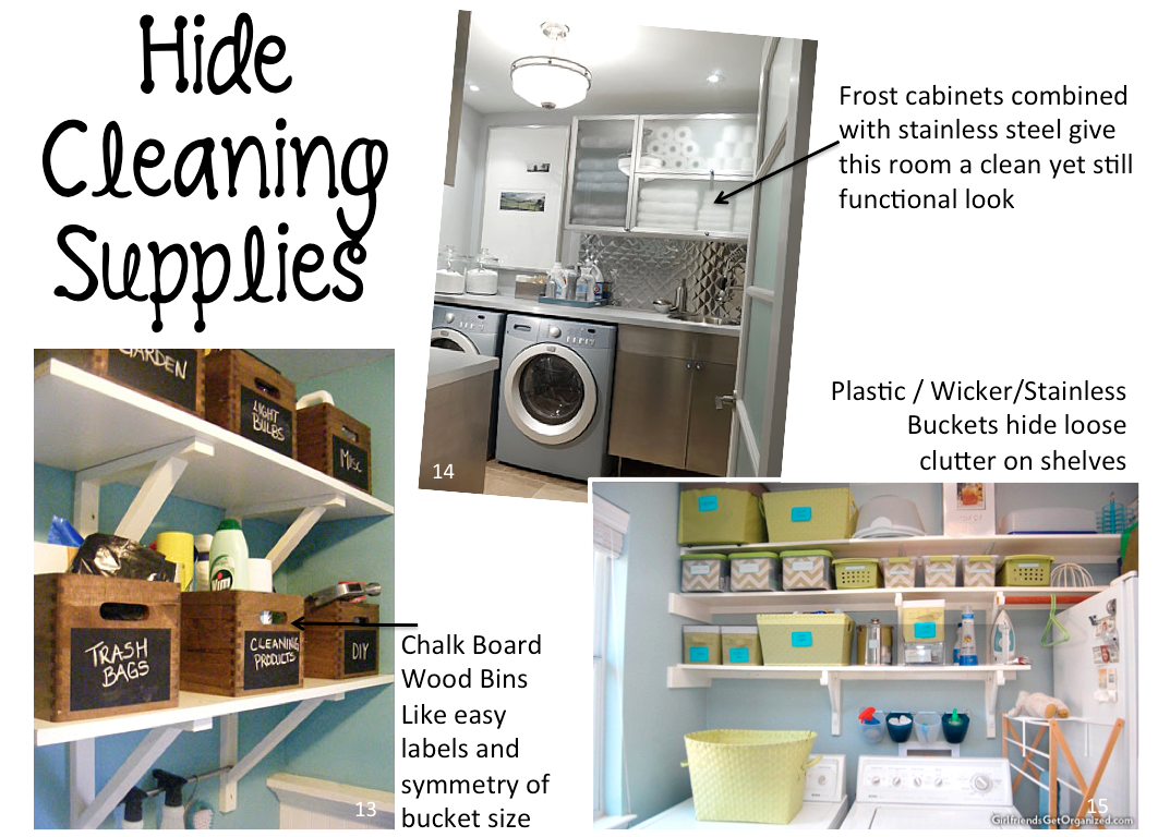 5 Dirty Secrets :: Laundry Room Organization | Brittany Blum