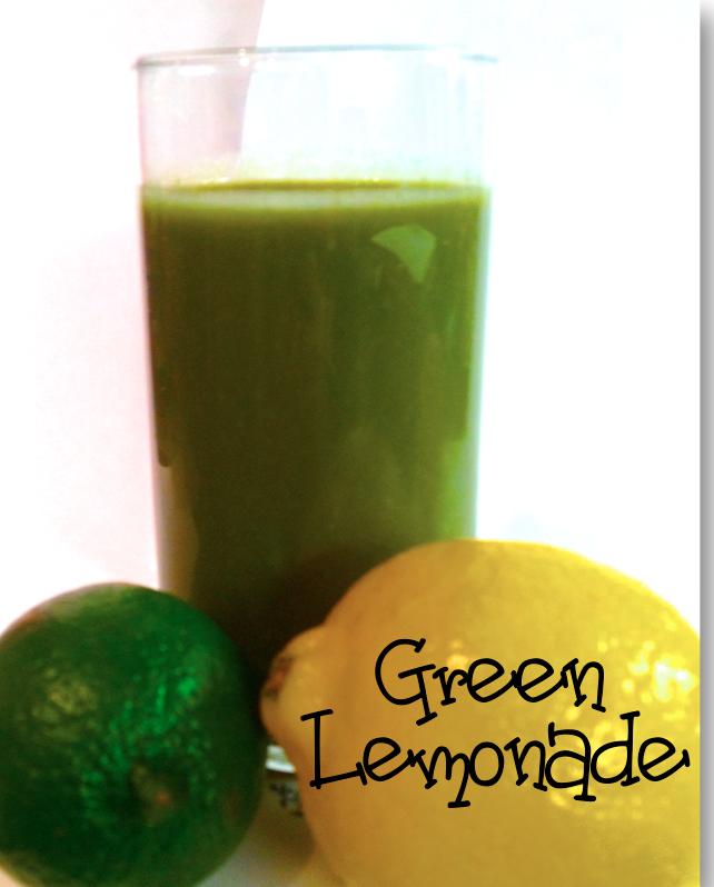 Green Lemonade :: Bottoms Up! | Brittany Blum