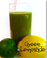 Green Lemonade :: Bottoms Up!
