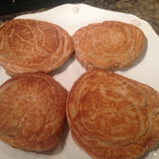 Cinnamon Protein Pancakes