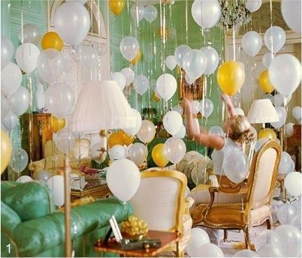 Balloons - Party - Decor - classy