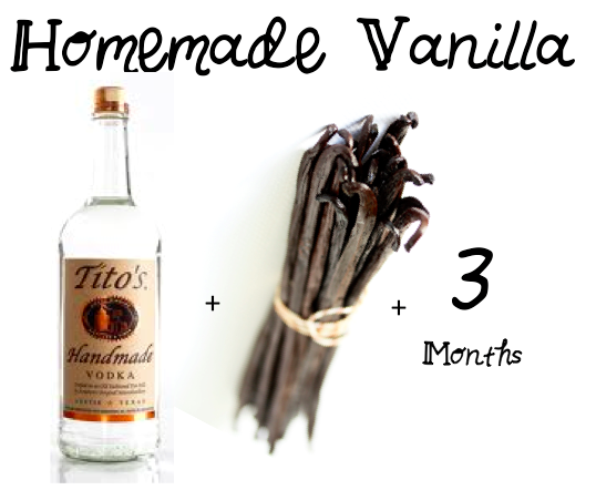 Homemade Vanilla - DIY - Super Easy - Impecable taste