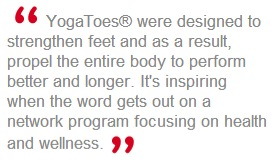 YogaToes - Read about the amazing health benefits. Any and every women should wear these.